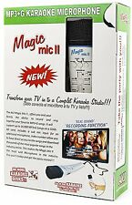 Magic Mic Index with 4000 Spanish Songs SD Card, Real Instrumental karaoke