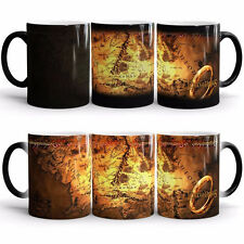 Lord of the rings  Coming Color Changing Heat Senstive Coffee Mug Cup