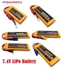 7.4V 1500mAh 6000mAh 2S 40C RC Lipo Batería Conector Personalizado