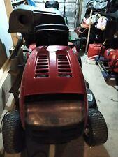"Troy-Bilt 42"" 18.5 Hp Automatic Riding Lawn Mower w/Cruise Control & Rear Bagger"