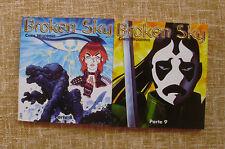 Comics, Broken Sky, parte 8 y 9, Norma, Primera edición, 2000, Chris Wooding