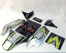 Losi Racing LOS250016 Body Set Screened Black DBXL-E  - NEW