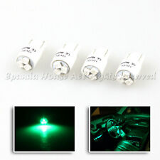 4 X T10 194 LED REPALCEMENT LIGHT BULBS FOR INTERIOR 1210 SMD CHIP JDM GREEN W5W