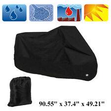 Motorcycle Cover Bike Waterproof Outdoor UV Dust Rain Protection Black XL