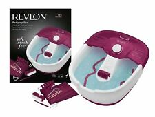 Revlon RVFB7021PUK Pediprep Foot Spa with 9 Pieces Nail Care Set