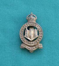 WW1, Northumberland Hussars Yeomanry ~ Genuine British Army Military Cap Badge