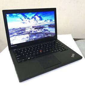 """Lenovo ThinkPad X240 i5 4200U 2.29Ghz 4GB RAM 500GB HDD 12.5"""" -68+ 72Wh Battery"""