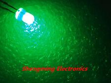 100pcs F3 3mm Green Round LED Light LED fog mist diffused