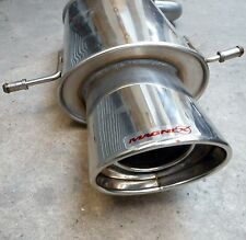 "MAGNEX BACK BOX 6""X4"" OVAL MUFFLER EXHAUST XSS05/0 SUBARU IMPREZA TURBO 2001 ON"