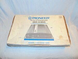 OLD SCHOOL PIONEER 4 CH BRIDGEABLE GM-X304 POWER AMPLIFER