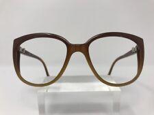 Vintage Bollé Irex 100 Sunglasses France 425 Polished Brown Beige Fade White Q92