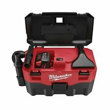 MILWAUKEE ELECTRIC TOOL 0880-20 Cordless Lithium-Ion Wet/Dry Vaccum Cleaner, ...