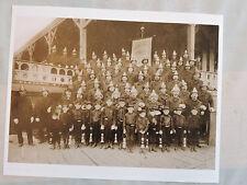 1895 Flatbush Volunteer Fireman Ass'n  Brooklyn FDNY Photo 8x10 REPRINT Canarsie