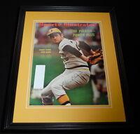 Steve Blass Signed Framed 1972 Sports Illustrated Magazine Cover Pirates