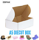 Mailing Box 220 x 160 x 77mm A5 BX1 B1 Shipping Carton White