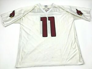 NFL Larry Fitzgerald Arizona Cardinals Football Jersey Size Extra Large XL Ivory