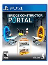 Bridge Constructor Portal - PlayStation 4 [video game]