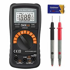 Tacklife DM02A Classic Digital Multimeter 2000 Counts Auto-Ranging Non Con..