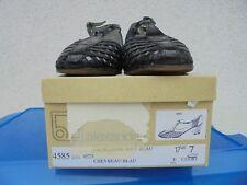Alexandria Damen Schuhe Sandaletten schwarz mit Lackleder Gr. 7 / 40