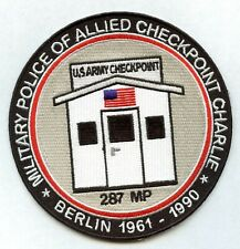Berlin Brigade - Allied Checkpoint Charlie - Military Police Patch