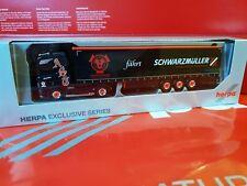 herpa SCANIA CS AST A. Schubert Transporte -SCHWARZM�œLLER --933407 ANGEBOT 3Tage