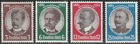 Stamp Germany Mi 540-3 Sc 432-5 1934 WWII Reich War Research Peters Luderitz MH