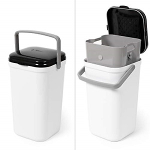 PetFusion PF-LC1A Portable Cat Litter Disposal Locking Handle, Complimentary &