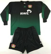 Bayer Leverkusen 2001 2002 #1 Adidas Torwarttrikot Hose matchworn Spielertrikot
