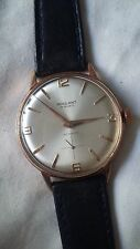 ROULANT WRISTWATCH - 36MM DIAMETER  GOLD PALTED - WORKING CONDITION - SWISS