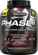 8-Hour Protein Powder, Sports Nutrition Muscle Builder Amino Acid Milk Chocolate