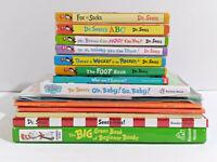 Dr. Seuss Mixed Bundle Hardcover Paperback CD Lot of 14 Beginner Books Big Green