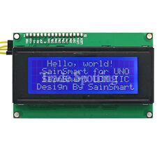 US Shipping SainSmart 2004 LCD Keypad Shield Blue Backlight for Arduino