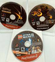 JAK 3/LEGO Star Wars II Original Trilogy/Ratchet Deadlock Playstation 2 PS2 Lot
