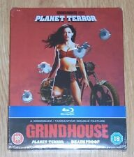 Grindhouse: Planet Terror & Death Proof (blu-ray) Steelbook. NEW & SEALED (UK)