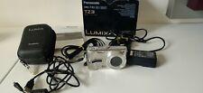 PANASONIC LUMIX DMC-TZ3 7.2mp Digital Camera 10x Zoom Silver VGC