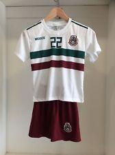 México Away Chucky Lozano Children Soccer Set Outfit