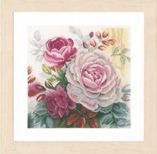 New Lanarte cross stitch kit  0165376 Pink Rose