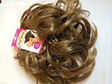 Chouchou cheveux Bandage morceau de chignon Extension Marron moyen