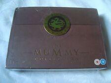 THE MUMMY TRILOGY Boxset + book + Mummy Hunters board game 6 DVD Brendan Fraser