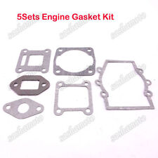 5x Engine Gasket Kit For 47cc 49cc 2 Stroke Mini Moto Dirt Pocket Bike ATV Quad