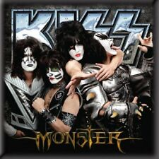 "KISS fridge magnet 3"" square MONSTER free UK P&P"