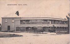VINTAGE POSTCARD THE ROYAL HOTEL  STANTHORPE    QUEENSLAND   1900s