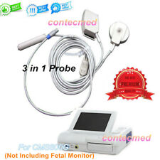 New 3 in 1 Probe TOCO FHR Fetal Movement Probe For CONTEC Fetal Monitor CMS800G