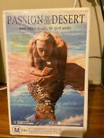 Passion in the Desert VHS HTF on DVD Ex-rental Video tape 18th Century Egypt war