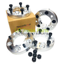 LAND ROVER DEFENDER NEW TERRAFIRMA 30MM ALUMINUM WHEEL SPACERS SPACER SET TF301