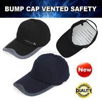 Bump Cap Safety Hard Hat Head Scalp Protection Mechanic Tech Baseball Cotton L