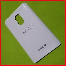 Samsung Galaxy S2 D710 Sprint Epic Touch Battery Door cover (White)