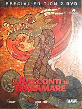 DVD • I Racconti di Terramare SPECIAL EDITION 2 DISCHI STUDIO GHIBLI ITALIANO
