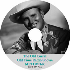The Old Corral Old Time Radio Shows OTR OTRS 12 Episodes MP3 CD-R
