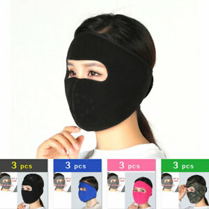 Windproof Warmer Winter Full Face Mask for Men & Women Outdoor Sports Thermal